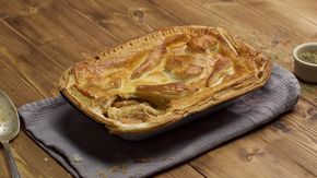 Leftover Roast Dinner Pie Recipe With Images Dinner Pies Roast Dinner Dinner Pie Recipes