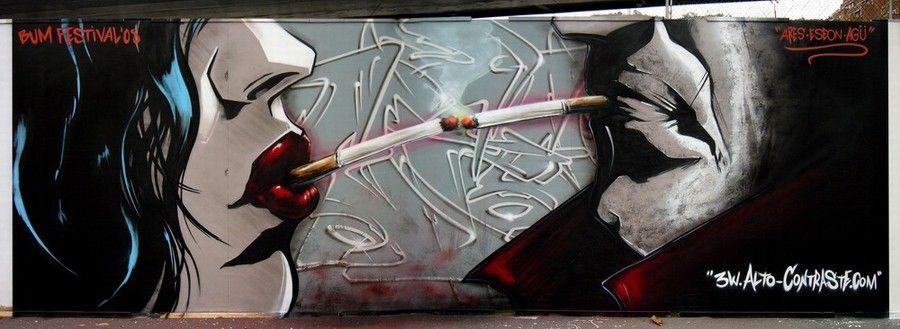 Arte callejero.