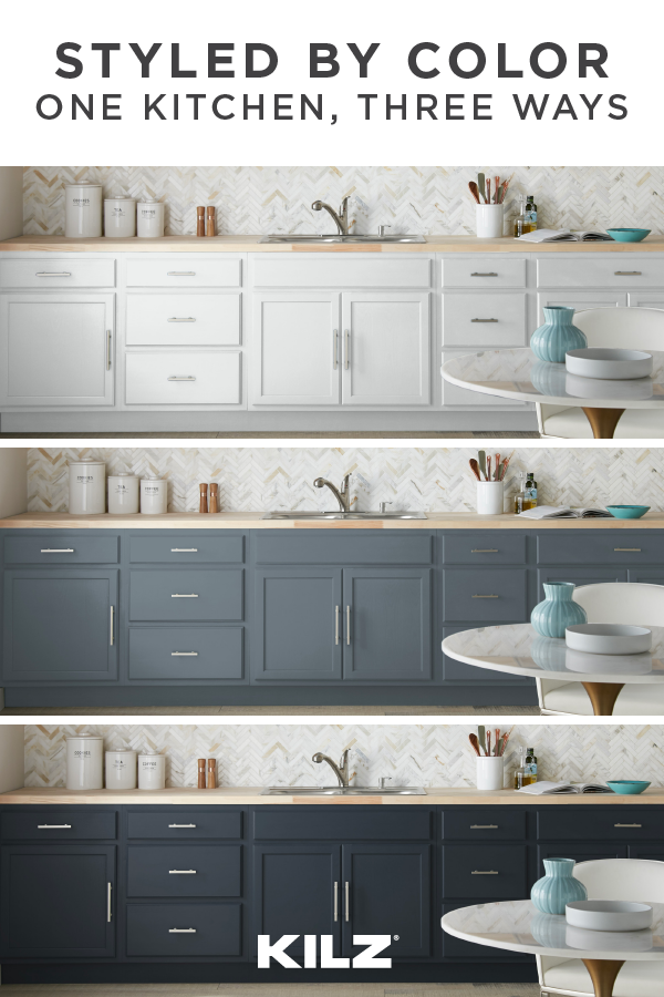 Styled by Color – One Kitchen, Three Ways