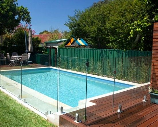 Swimming Pool Fencing Panels / Screens | Pool | Glass pool ...