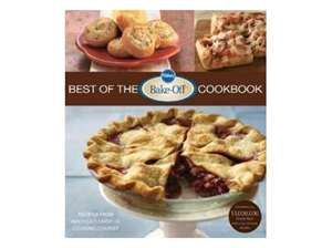 Pillsbury:  The Best of the Bake Off.  Lots of good stuff, and all include easy Pillsbury products.