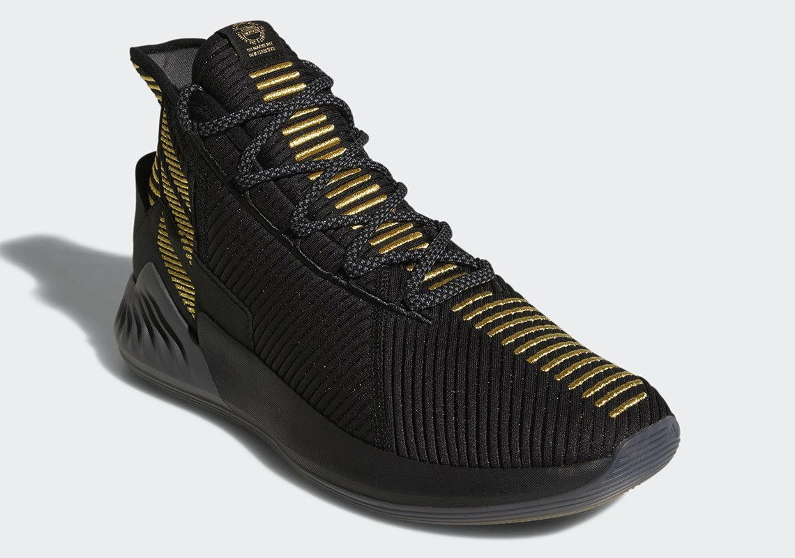 exquisite style aliexpress beauty The adidas D Rose 9 Is Releasing In Black And Gold   Adidas ...