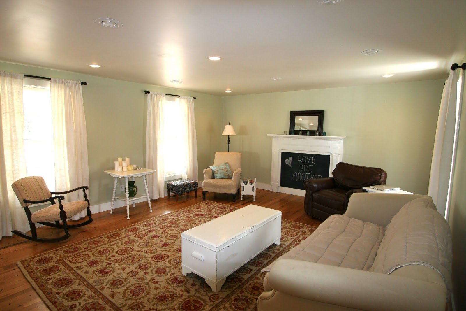 Explore Green Paint Colors Neutral And More Living Room