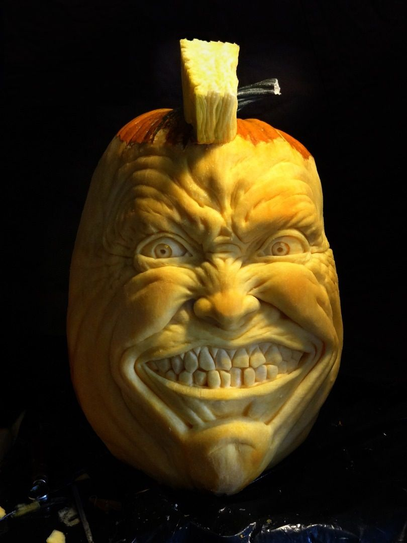 The scariest pumpkin carvings ever spooktacular goodness - Citrouille effrayante ...