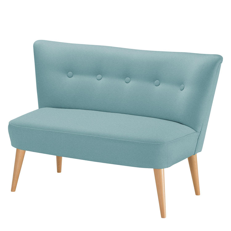 Morteens Möbel sofa bumberry 2 sitzer webstoff mintgrau morteens jetzt