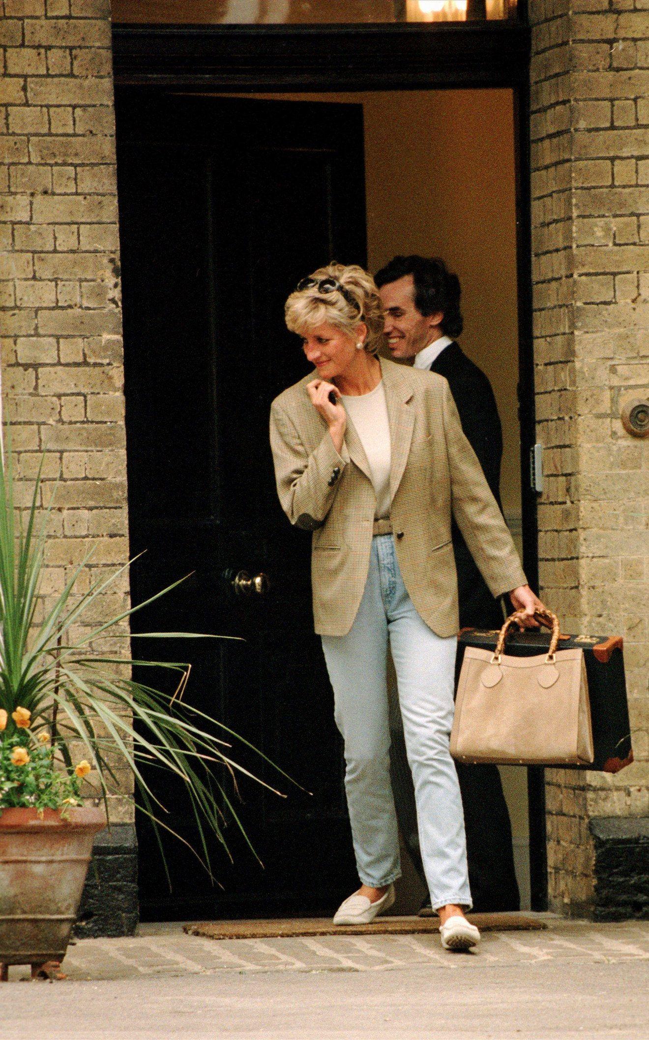 Princess Diana's Chic, Unfussy Denim Style