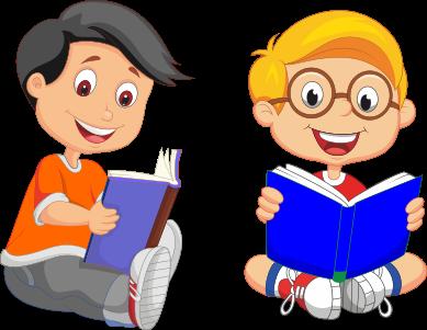 58+ Gambar Animasi Orang Baca Buku