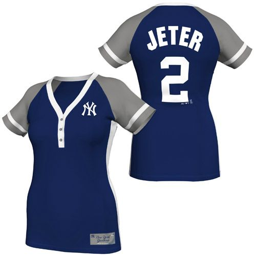 low priced 76a50 831c2 New York Yankees Derek Jeter Women's Player League Diva ...