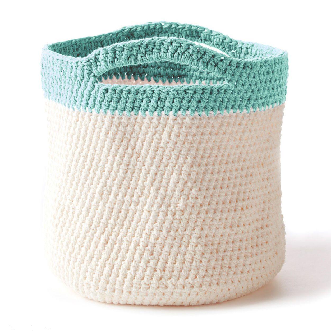 Bernat Crochet Handy Basket | Crochet for home | Pinterest
