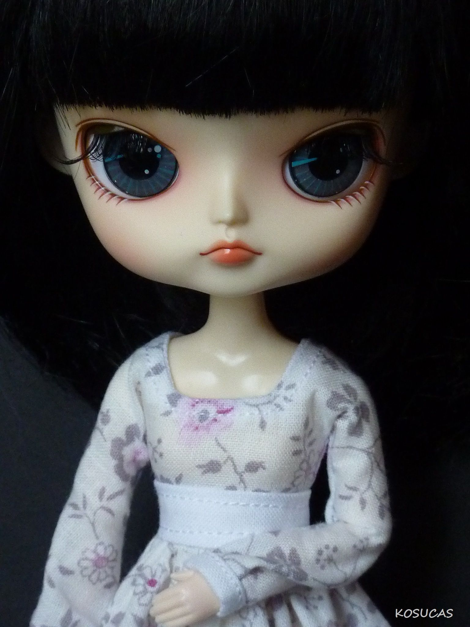 Vestido para mi muñeca Dal.
