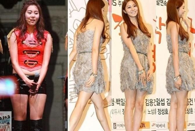 after school u2019s uee  once loved for her healthy image and honey thighs  uee recently revealed