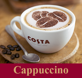 Cappuccino Costa Coffee Coffee Menu Coffee Latte