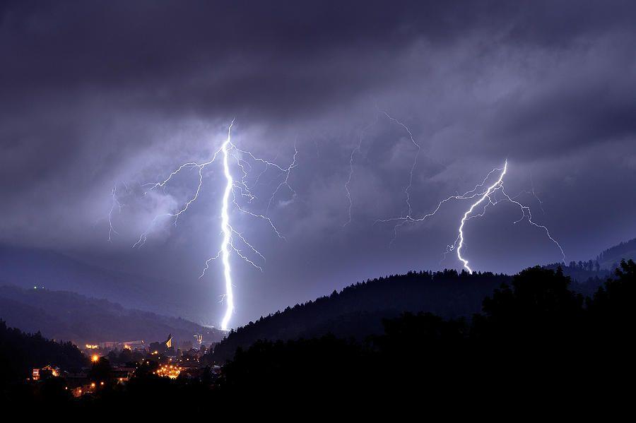 Storm Photograph - Superstrike by Przemyslaw Wielicki