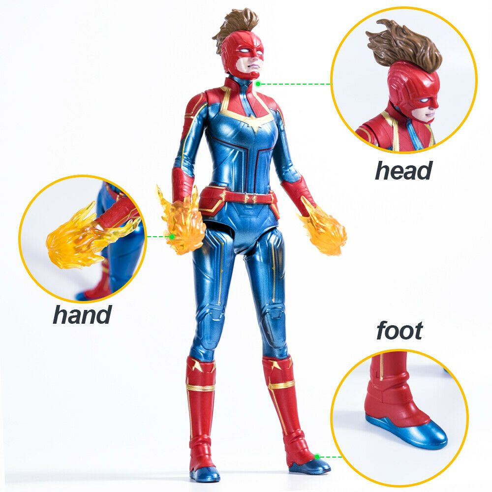 MARVEL CAPITAN MARVEL MOVIE Cosmic CAPITAN MARVEL SUPER HERO doll