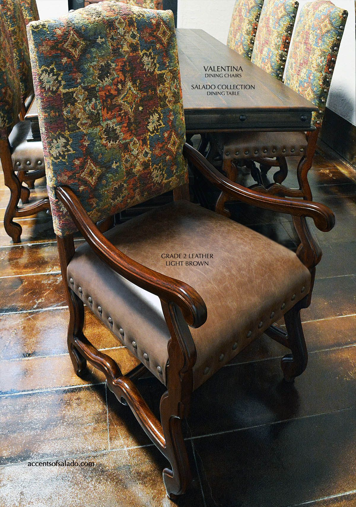 Southwest Hacienda Dining Chair Online Accents Of Salado