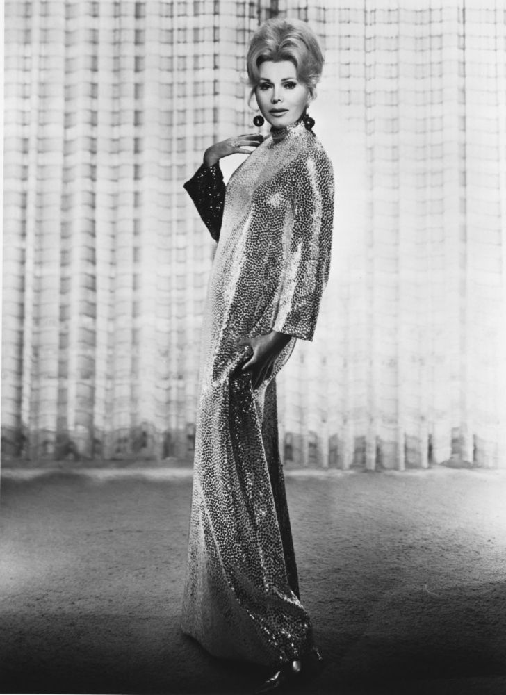 Remembering the style of the iconic Zsa Zsa Gabor.
