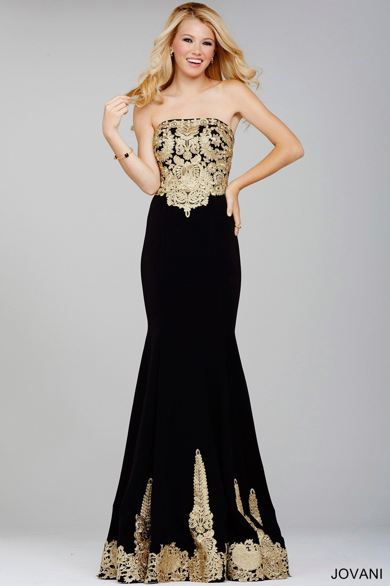 Shine bright in gold metallic jovani dinner pinterest