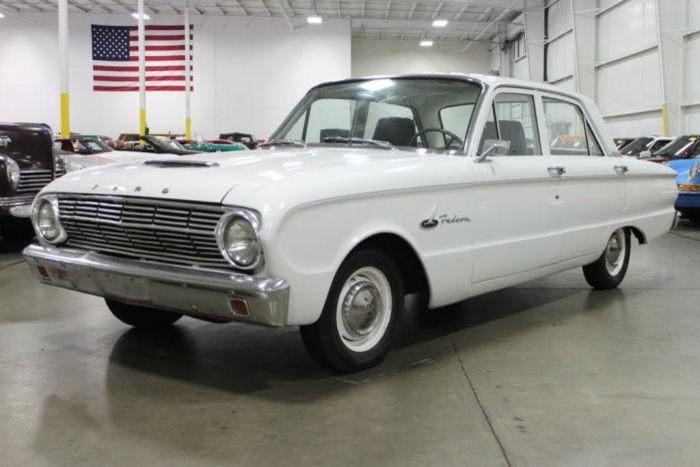 1963 Ford Falcon 4 Door Sedan Ford Falcon Ford Falcon