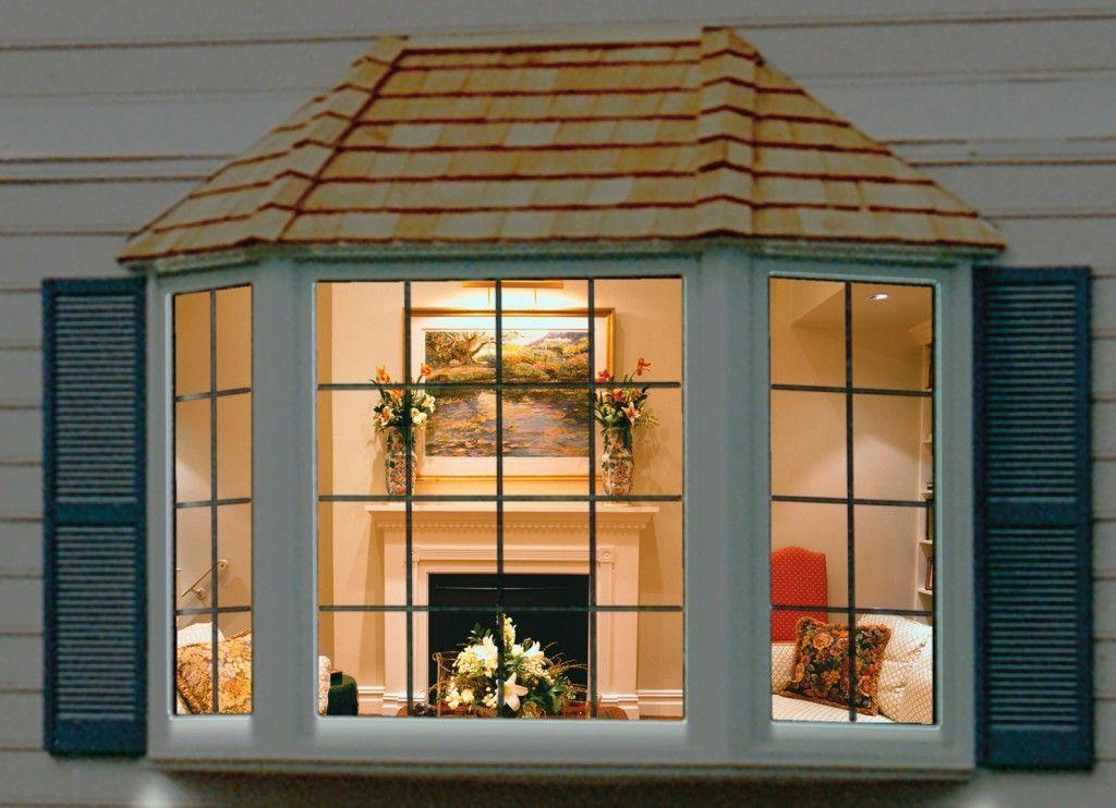 Home Decorations Ideas Bay Window Exterior Bow Window Window