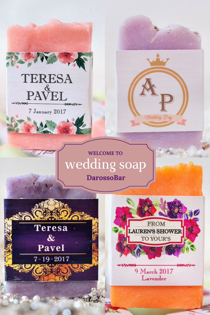 wedding soap, wedding favors soap, bridal shower, baby shower ...