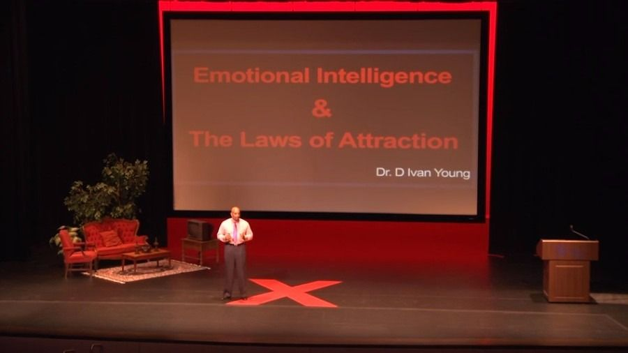 Emotional Intelligence: Using the Laws of Attraction   D. Ivan Young   TEDxLSCTomball