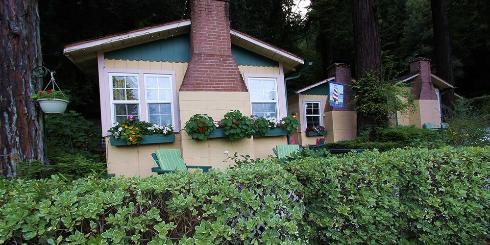 Russian River Bed and Breakfast Inn Fern Grove Cottages