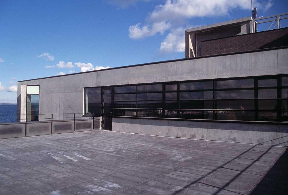 Port of Aarhus, Marine Building C.F. Møller. Photo: Julian Weyer