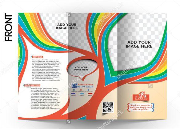 Attractive School Brochure Template Brochure Inspirations - School brochure template