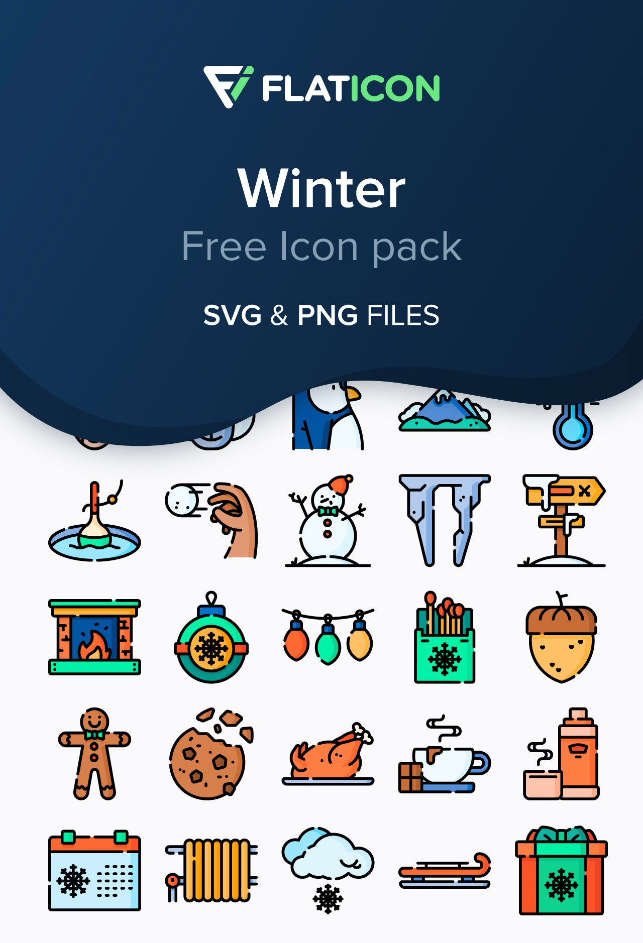 Welcome Winter Season With This Icon Pack Icon Pack Welcome Winter Free Icon Packs