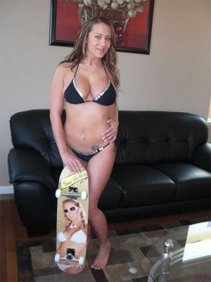 Trina Michaels Skateboard Line