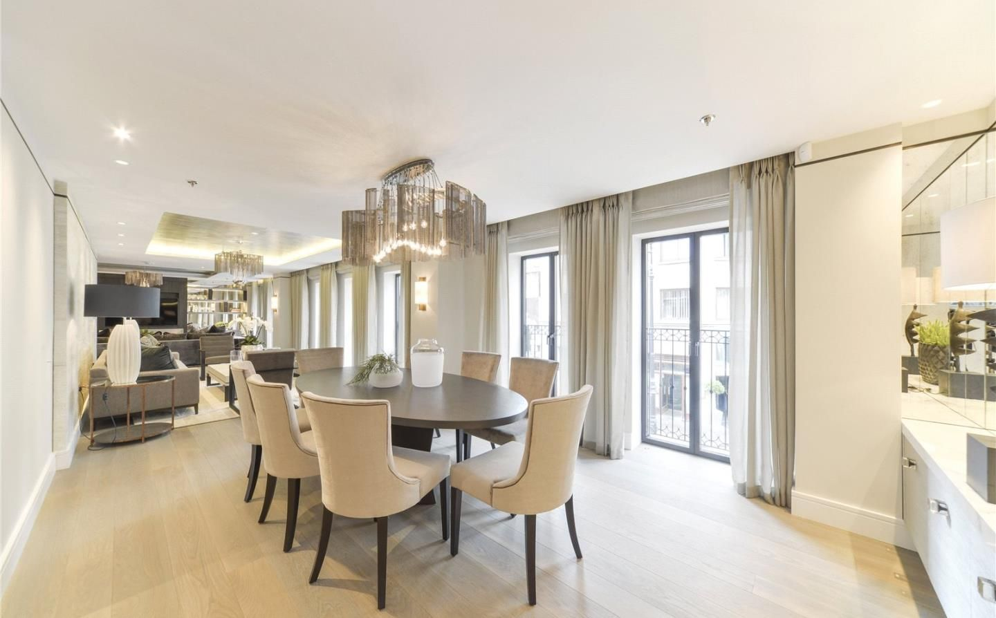 Whole House Renovations  Luxury Dining Room  Neutral  Cream Delectable Dining Rooms Reigate Design Decoration