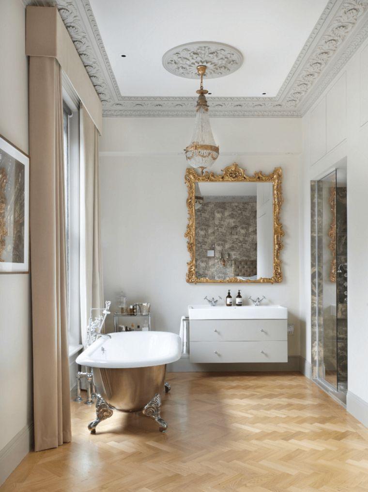 La Deco Salle De Bain De Luxe Se Decline En Style Glamour