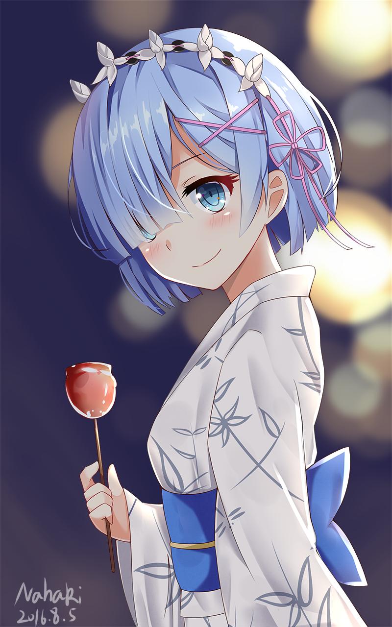 Rmt レム 雷姆 rem rezero pinterest so cute she is