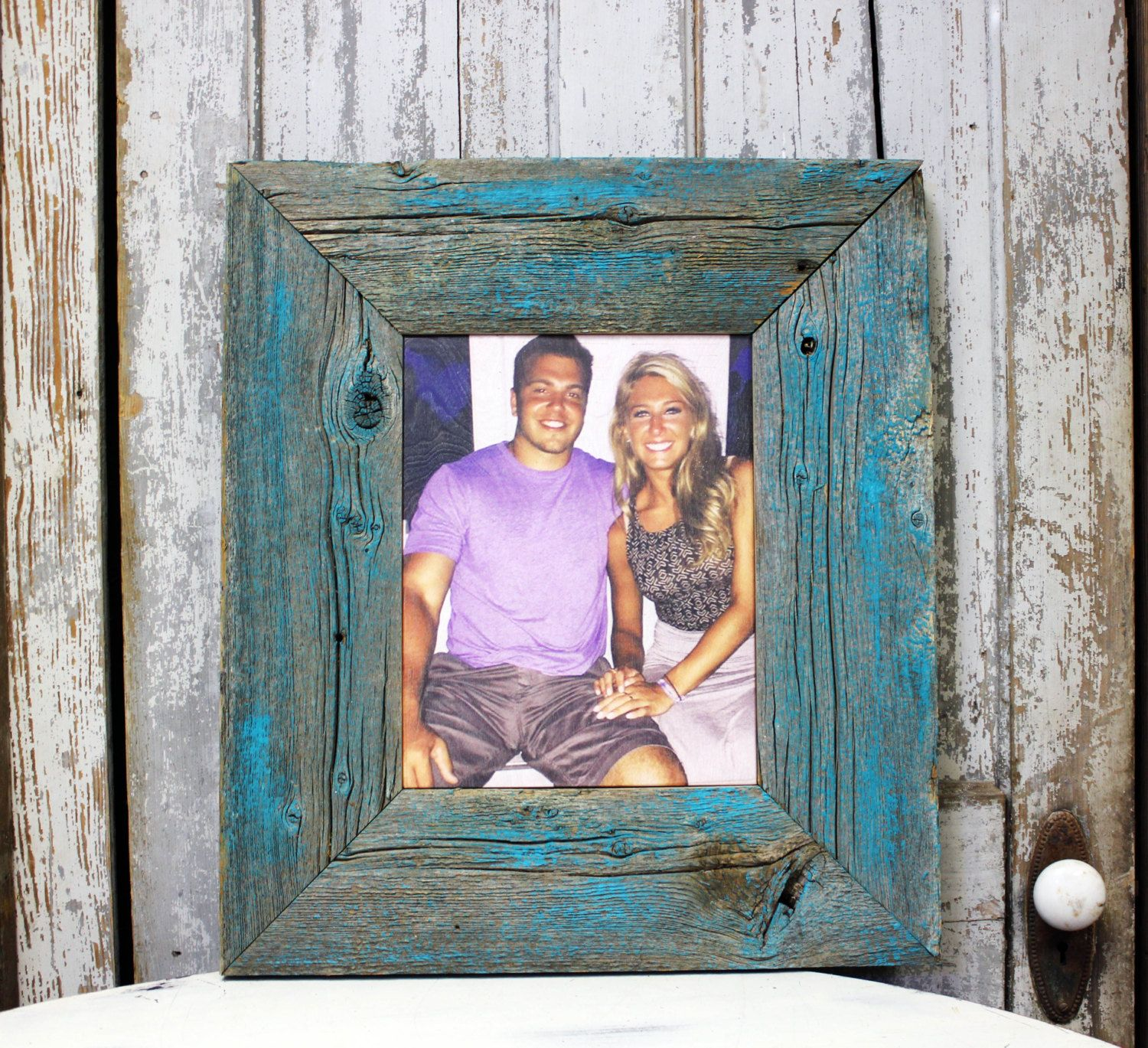 Photographs Printed on WOOD or METAL, Rustic barn wood