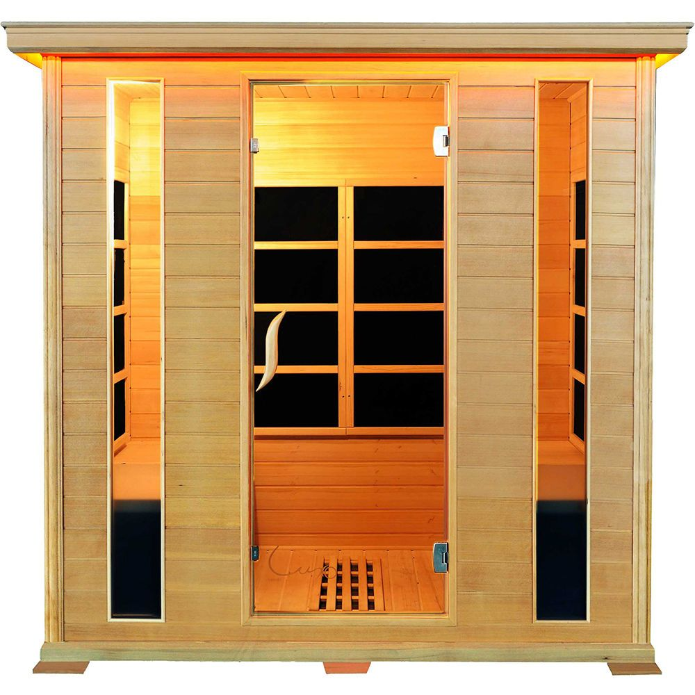 Buy luxo taavi 4 person far infrared sauna online