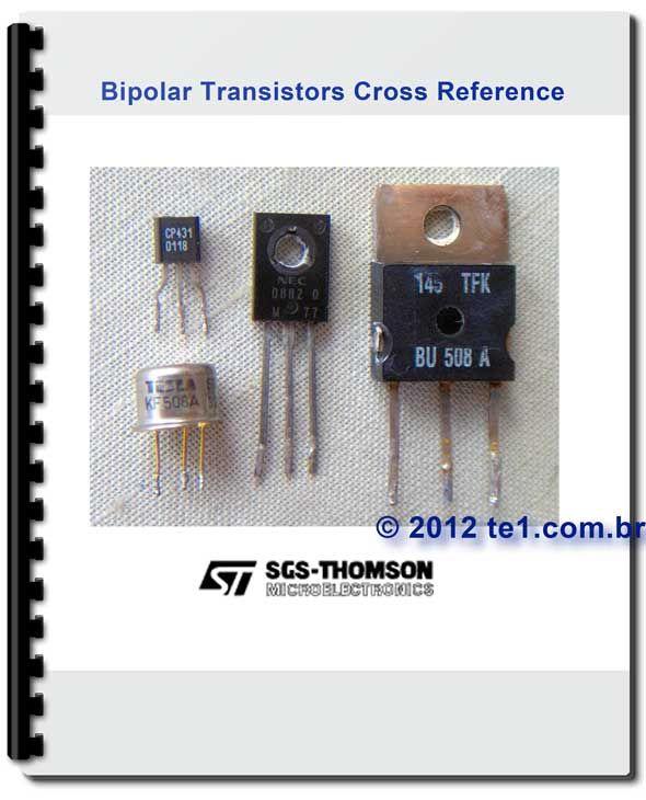Baixar Pdf Equivalencia De Transistor Bipolar Sgs Thomson Te1
