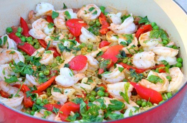 Post image for simple spanish shrimp paella recipe and video post image for simple spanish shrimp paella recipe and video forumfinder Images