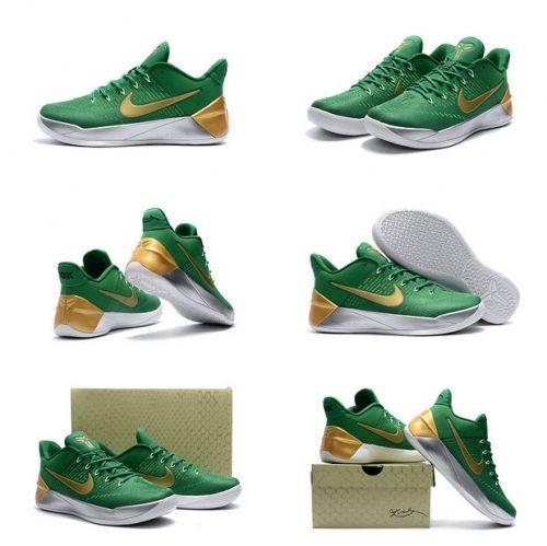 199942cba82 How To Buy 2018 Nike Kobe AD All Star PE Isaiah Thomas PE Green Gold ...