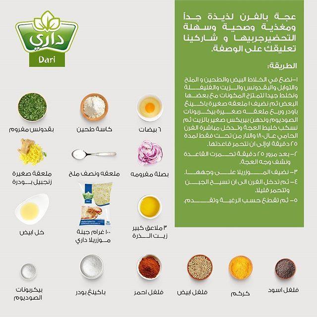 عجة بالفرن لذيذة جدا ومغذية وصحية وسهلة التحضيرجربيها و شاركينا تعليقك على الوصفة Instagram Posts Cooking Sog