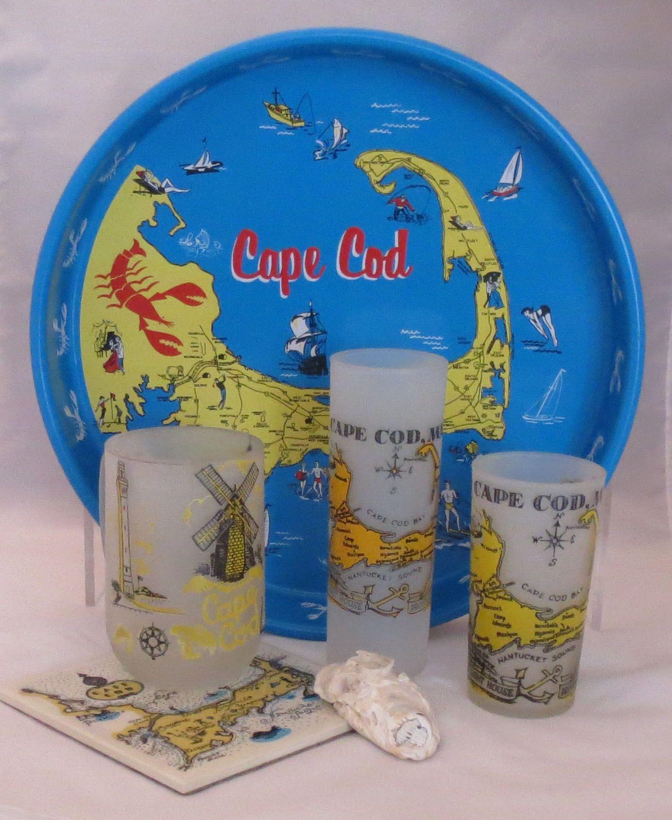 A collection of Cape Cod souvenirs
