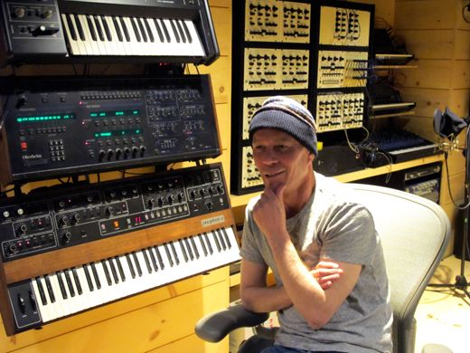 Only comfortable for the moment: Vince Clarke embraces challenge and change.