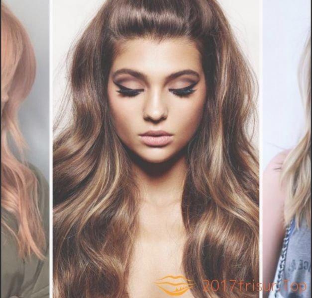 Haarfarben Trends Herbst 2018 Haarfarbe Frisuren Trends 2017 Und