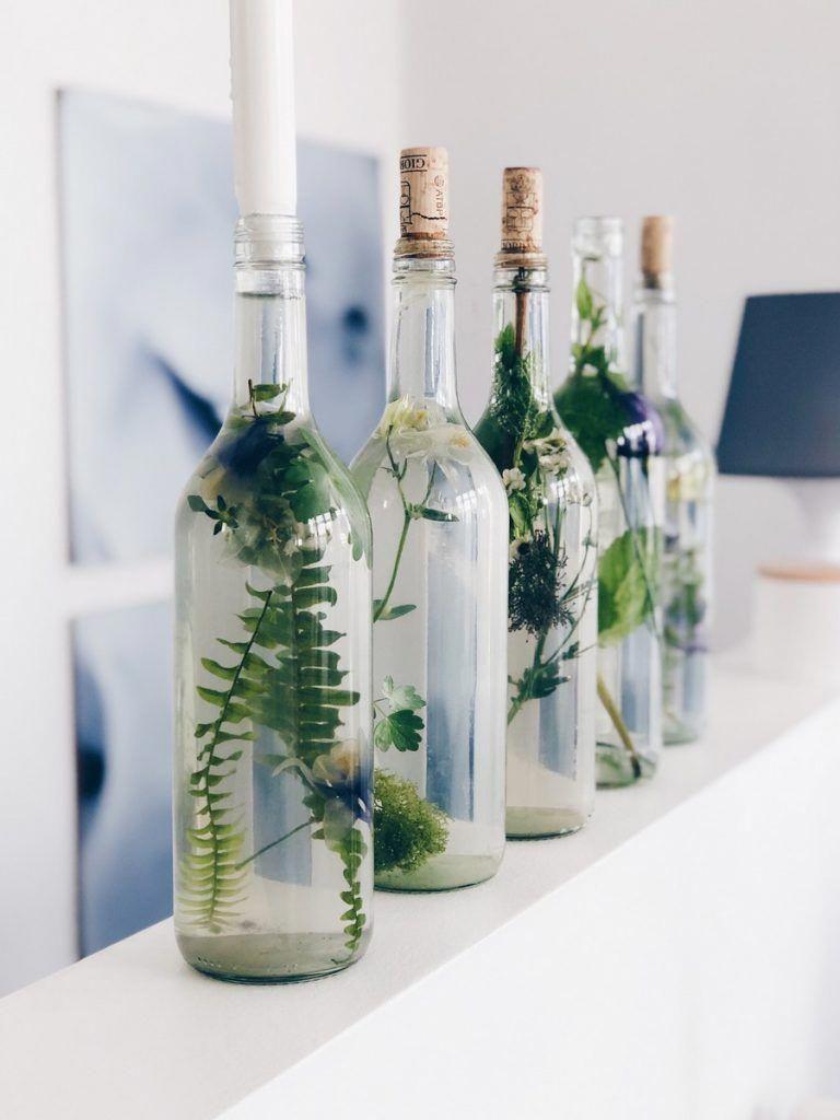 Einfache Blumendeko in Glasflaschen ::: DIY und Gedanken zur Konfirmation - knobz.de