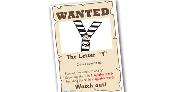 Wanted The Letter Y Poster - wanted poster, wanted, letter poster ...