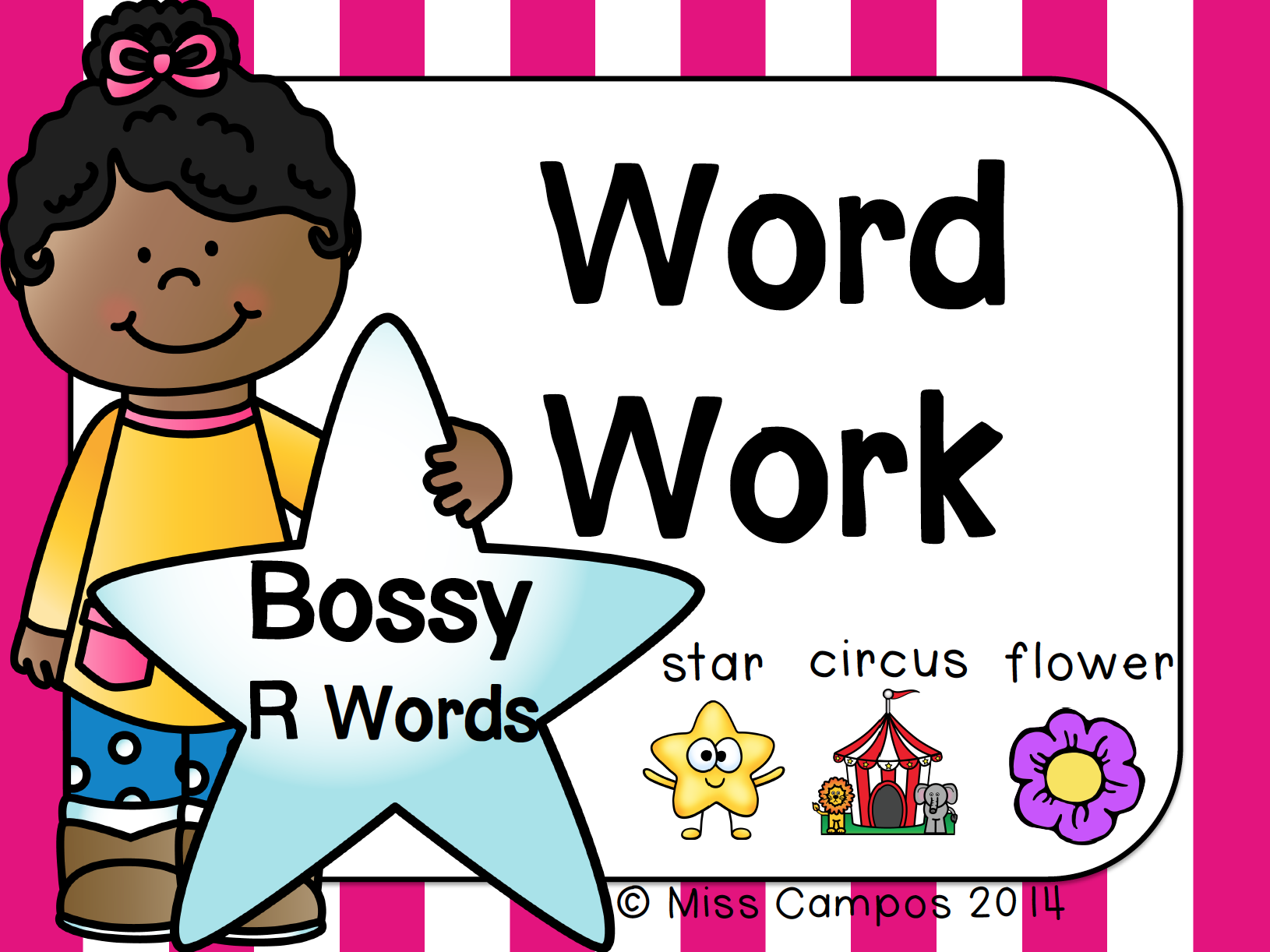 R Controlled Vowel Words Review