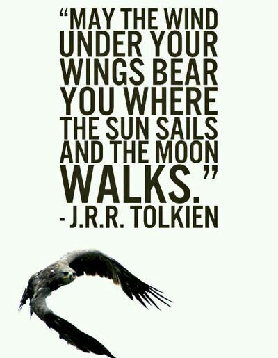 Image result for tolkien wind under your wings