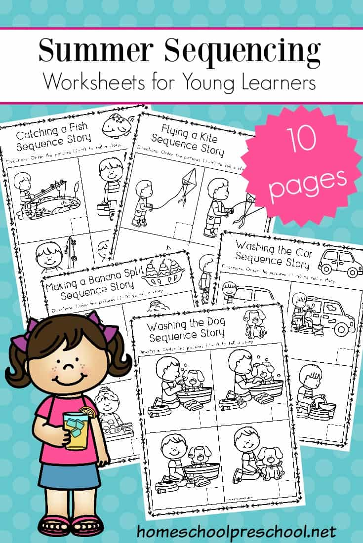 Free Sequencing Worksheets That Are Perfect For Summer Young Learners Wil Sequencing Worksheets Kindergarten Sequencing Worksheets Story Sequencing Worksheets [ 1100 x 735 Pixel ]