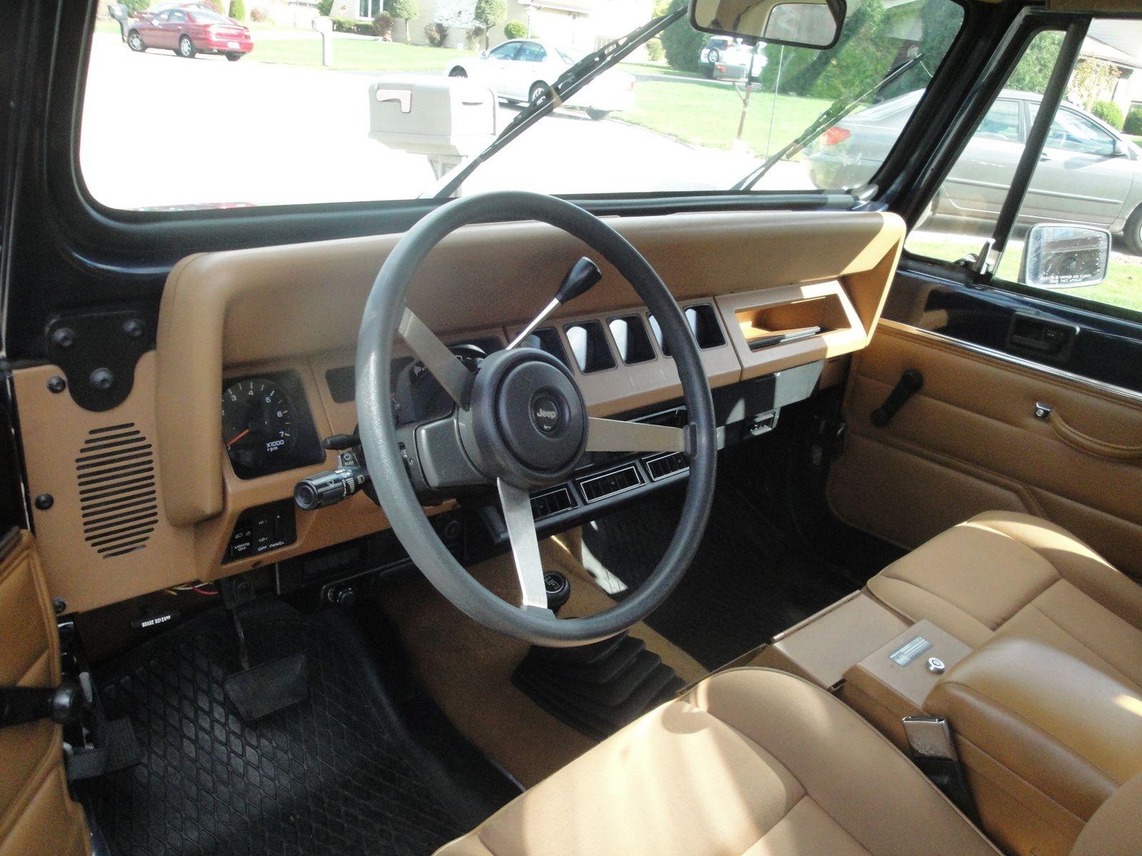 1995 Jeep Wrangler Interior Pictures Jeep Wrangler Interior