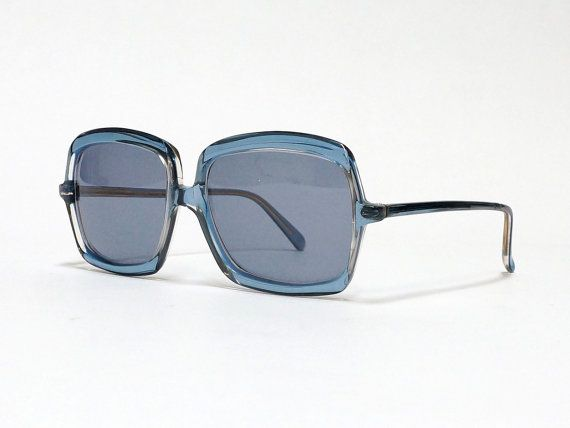 Vintage Sunglasses by Neostyle - model Quadrette - extraordinary oversized German eyewear