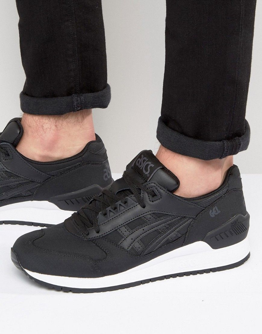 ab6675cde2ac Get this Asics s sneakers now! Click for more details. Worldwide shipping.  Asics Gel-Respector Trainers In Black - Black  Trainers by Asics